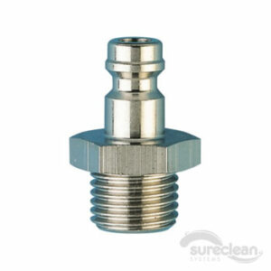 "1/4"" Threaded QRC Male (Rectus)"