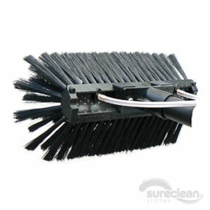 The Super-Lite Radius-Sill Brush Dual-Trim Soft Bristles (Black)